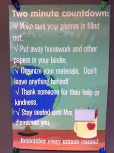 From--Middle School Math Rules!: Classroom
