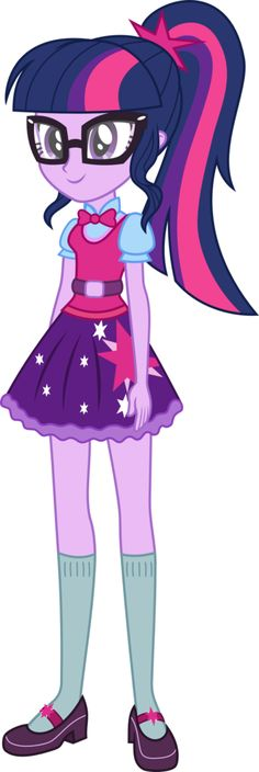 #1157023 - alternate hairstyle, artist:kingdark0001, clothes, equestria girls, human twilight, new outfit, safe, simple background, skirt, solo, transparent background, twilight sparkle, vector - Derpibooru - My Little Pony: Friendship is Magic Imageboard