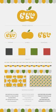 DE / Bobilo Identity / branding / visual identity / color palette / graphic elements / playfull style