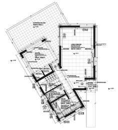 Image 16 of 22 from gallery of Conjunto Acacias / Tectum Architecture. Photograph by Gonzalo Viramonte School Architecture, Architecture Plan, Acacia, Container House Plans, Lobby Design, Poster Layout, Dream House Plans, Pool Houses, Plan Design