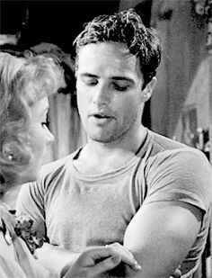 """""""What was that? Oh, those cats""""  Marlon Brando in A Streetcar Named Desire (1951)"""