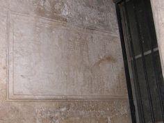 iscrizione edificazione Bagno Clodiano, campanile Cattedrale di Teano