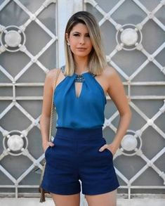 Trendy Summer Outfits, Short Outfits, Classy Outfits, Chic Outfits, Short Dresses, Fashion Outfits, Casual Summer, Look Con Short, Vetement Fashion