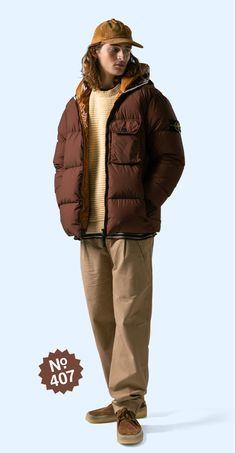 Stone Island, Winter Jackets, Fashion, Stone Island Outlet, Winter Coats, Moda, Winter Vest Outfits, Fashion Styles, Fashion Illustrations