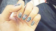 Nails bohemian ! <3