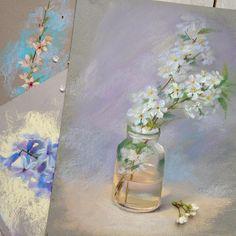 Пастельная весна. #пастель #pastel #pastelpainting #spring #весна
