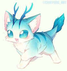 You could say that this animal is nature because it is represented by e Mythical Creatures List, Cute Fantasy Creatures, Weird Creatures, Magical Creatures, Ocean Creatures, Cute Animal Drawings, Kawaii Drawings, Cute Drawings, Fantasy Kunst