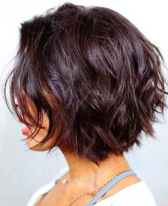 Dark Short Layers - The Most Popular Short Hairstyles on Pinterest - Photos