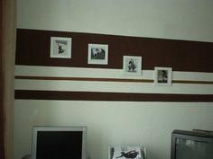 Charmant Wandgestaltung In Streifen: Wände Im Streifenkleid