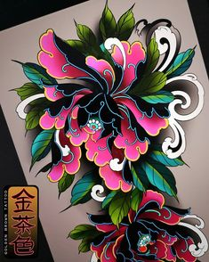 Japanese Tattoos 423619908702601857 - Design for client, full peony sleeve 😍. Source by nikylil Japanese Tattoo Cherry Blossom, Small Japanese Tattoo, Japanese Tattoo Symbols, Japanese Sleeve Tattoos, Best Sleeve Tattoos, Body Art Tattoos, Japanese Flower Tattoos, Tattoo Ink, Arm Tattoo