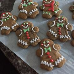 """Eileen's Spicy Gingerbread Men 