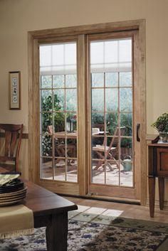 Lowe's Patio Doors | Designer Series® sliding French patio door | Pella Pressroom