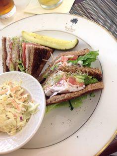 Miami beach Golf Club, - club sandwich.