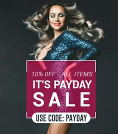It's PAYDAY  SALE going on at #Cliphair 👇🎊 Get upto 10% off on your favorite hair extensions and look breathtakingly fabulous 👉 https://www.cliphair.co.uk/offers.php?mode=offer&offerid=33 💠Deal ends Midnight on the 30th Sept 2016