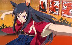 """Natsuki's hanafuda playing avatar in Mamoru Hosoda's """"Summer Wars"""""""