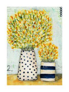 Cottage Bloom Wall Art Prints by Sen Chloe   Minted