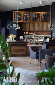 ALBO producent mebli - Kompleksowo wyposażamy powierzchnie gastronomiczne, kawiarnie, bary. Wykonujemy: m.in:  lady, stoły witryny, gabloty, meble socjalne i inne.  W ofercie posiadamy również wszelkiego rodzaju witryny cukiernicze, chłodziarki i inne sprzęty gastronomiczne.  Zapraszamy Conference Room, Bar, Furniture, Home Decor, Meeting Rooms, Interior Design, Home Interior Design, Arredamento, Home Decoration