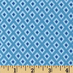 Oragami Oasis Spot Blue from @fabricdotcom  Designed by Tamara Kate for Michael Miller, this cotton print is perfect for quilting, apparel and home decor accents.  Colors include shades of blue.