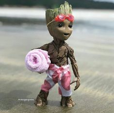 baby groot on the beach - Album on Imgur