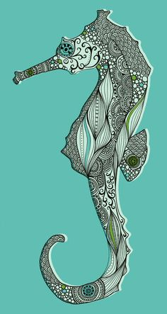 Seahorses make me smile (this one is a little creepy and a little beautiful...not sure which it is more of...)