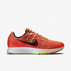 Nike Men's Zoom Structure 19 - Bright Crimson/Black/Volt/Volt Green - 10.0 * Find out more details @ http://www.myvacationdestinations.com/fitness_store/nike-mens-zoom-structure-19-bright-crimsonblackvoltvolt-green-10-0/?gh=040716125540
