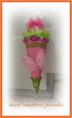 bastel-schultüten-paradies - Bastelset Schmetterling , selbst gebasteln , wie bastel ich , schultüte, bastelset, Handarbeit gebastelt