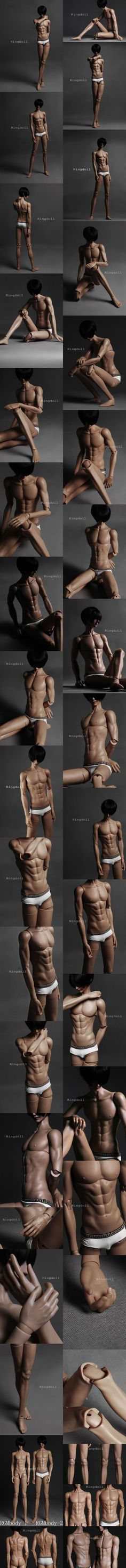 BJD 72cm Male Body RGMbody-2 Ball-jointed doll_RING DOLL_DOll body maker_DOLL BODY_Ball Jointed Dolls (BJD) company-Legenddoll