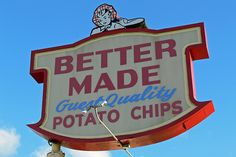 Better Made Potato Chips are made in Detroit, MI