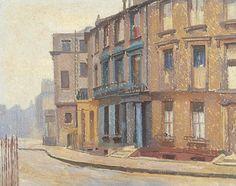 Chalcot Crescent, Camden. Hubert Arthur Finney