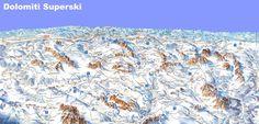 "The Italian Dolomites - amazing ski ""safari"" vacations Sella Ronda, Maputo, Trail Maps, Mount Everest, Skiing, Travel Destinations, Italy, Mountains, Amazing"