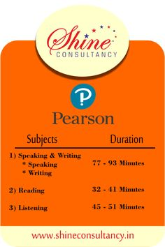 For students who are planning to give PTE exam, here is the break down of time.  #visitus at #website: http://shineconsultancy.in/  You can also #callus on 022-28928911/22/33  #shineconsultancy #studyabroad #overseas #education   #coachingcenter #ielts #pte #toefl #mumbai #borivali   #PTE #Tip1