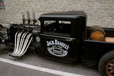 hot rod, muscle cars, rat rods and girls Rat Rod Trucks, Cool Trucks, Cool Cars, Pickup Trucks, Rat Rod Pickup, Bagged Trucks, Dodge Pickup, Weird Cars, Big Trucks