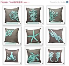 CHRISTMAS SALE Decorative Pillow Cover Throw Pillow by KainKain