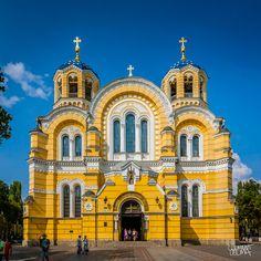 St. Volodymyr's Cathedral, Kiev, Ukraine by Clement Celma, via 500px