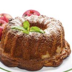 Bolo de maçã e aveia com canela sem lactose  Aprenda a fazer esta receita saborosa e muito saudável