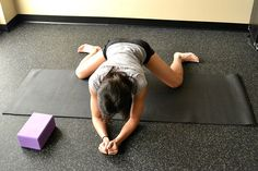 Tight hip flexers can cause the lower belly pooch. These are stretches to help loosen up your hips