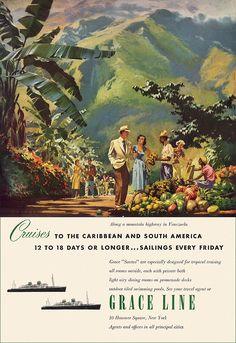 Grace Lines - 1951 ad