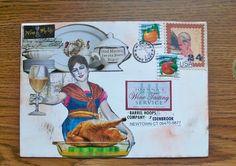 Art Dust/ Mixed Media Fiber Artist RPL: Wine Me Up, Altered Mail/ Envelope Art