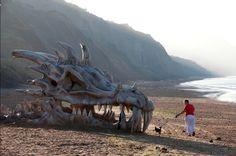 Game of Thrones: Making the Dragon skull