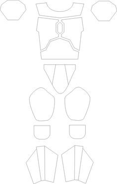 Armor templates for my son pinterest template cosplay and armor templates mandalorian pronofoot35fo Images