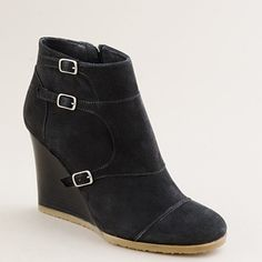 mmm usually J.Crew shoes are too narrow for my duck feet, but I might have to try these on just to be sure.