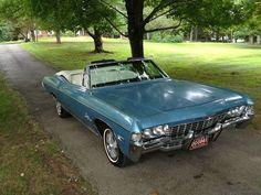 1968 Chevy Impala Convertible