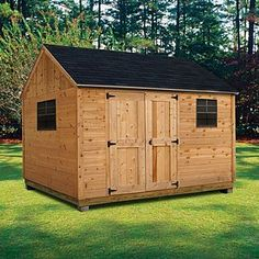 Cedar Cottage (10 ft. x 12 ft.) - Professional Installation Included (sears)