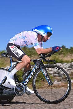 #TDF2016 / Stage 13 Adam YATES White Best Young Jersey / BourgSaintAndeol La Carerne du PontD'Arc / Time Trial ITT / TDF /