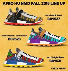 a328be426 Pharrell adds traditional African prints to a new Adidas NMD Hu Collection  set for Fall