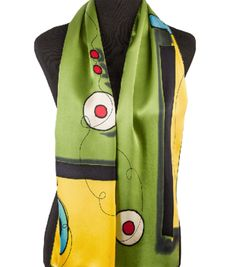 Miro Scarf in Lime
