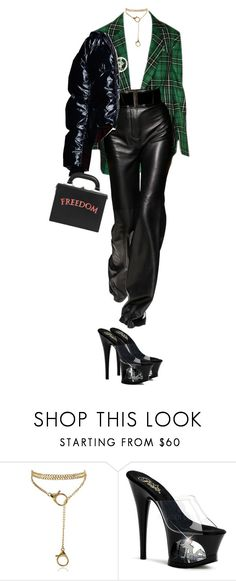 """""""Sin título #155"""" by b-e-b-a ❤ liked on Polyvore featuring Pleaser and Bertoni"""