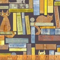 Maria Carluccio - Smarty Cats - Cats in Books in Midnight