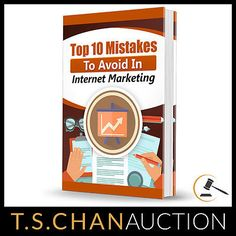 10 Mistakes to AVOID in Internet Marketing PDF eBook Resell Rights Free Shipping