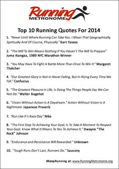 1730 Best Running Quotes Images On Pinterest Running Training